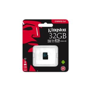 Kingston MicroSD Canvas Go! 32GB – Memoria Flash