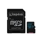 Kingston MicroSD Canvas Go! 64GB c/ad – Memoria Flash