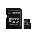 Kingston MicroSD Gold UHS-I U3 16GB c/ad – Memoria Flash
