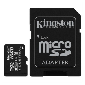 Kingston Industrial Temperature MicroSD 16GB c/ad – Memoria