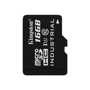Kingston Industrial Temperature MicroSD 16GB – Memoria Flash