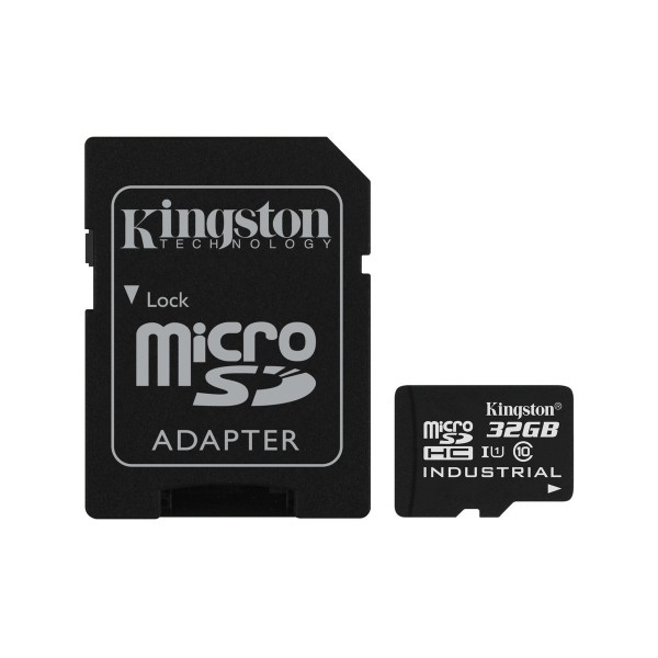 Kingston Industrial Temperature MicroSD 32GB c/ad – Memoria