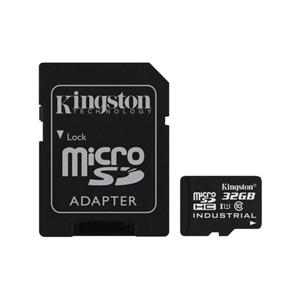 Kingston Industrial Temperature MicroSD 32GB c/ad – Memoria