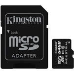 Kingston Industrial Temperature MicroSD 64GB c/ad – Memoria