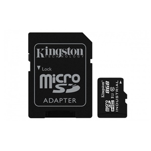 Kingston Industrial Temperature MicroSD 8GB c/ad – Memoria