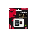 Kingston Canvas React MicroSD 128GB c/ad – Memoria Flash