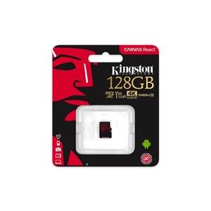 Kingston Canvas React MicroSD 128GB – Memoria Flash