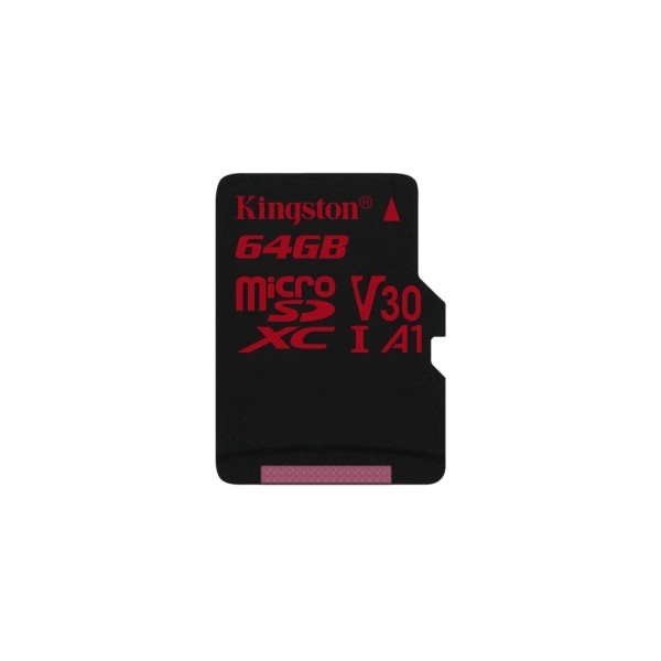 Kingston Canvas React MicroSD 64GB – Memoria Flash
