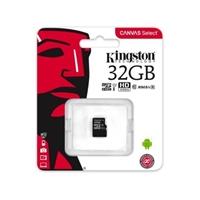 Kingston Canvas Select MicroSD 32GB – Memoria Flash