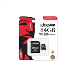 Kingston Canvas Select MicroSD 64GB c/ad – Memoria Flash