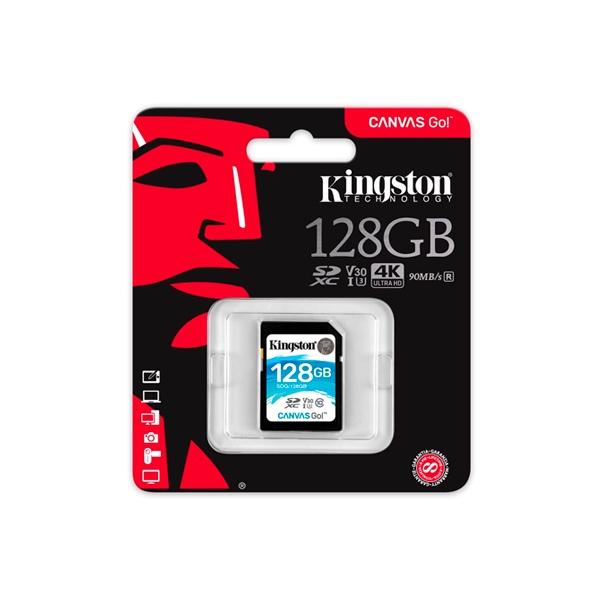 Kingston Canvas Go! SDXC 128GB – Memoria Flash