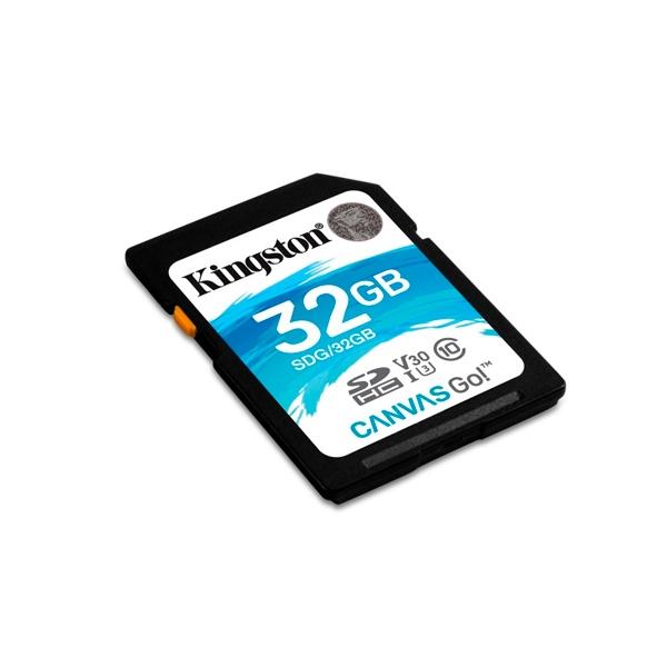 Kingston Canvas Go! SDHC 32GB - Memoria Flash