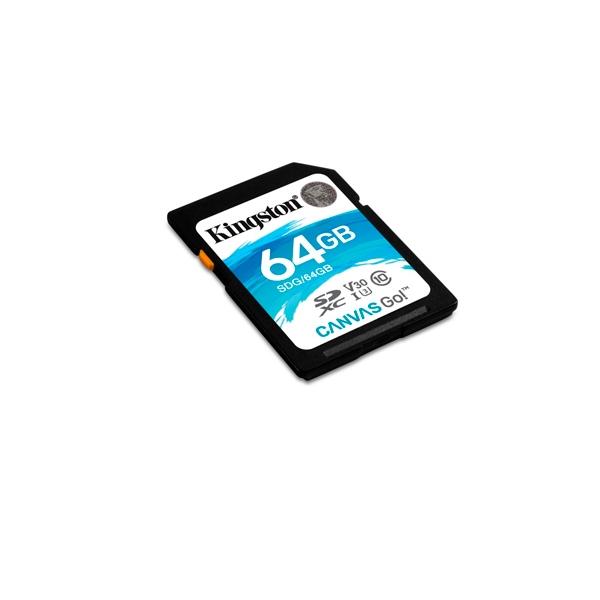 Kingston Canvas Go! SDXC 64GB - Memoria Flash