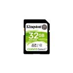 Kingston Canvas Select SDHC 32GB - Memoria Flash