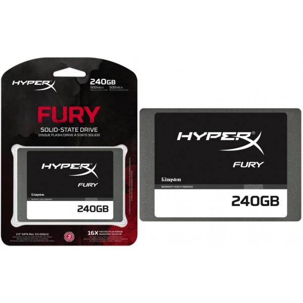 HyperX Fury 240GB SATA – Disco Duro SSD