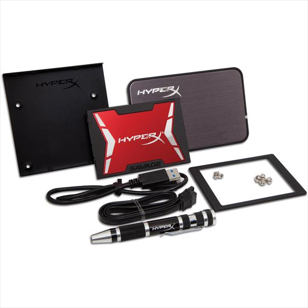 Kingston HyperX Savage Upgrade Bundle Kit 120GB – SSD