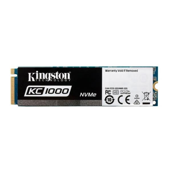 Kingston KC1000 NVMe PCIe 480GB – Disco Duro SSD