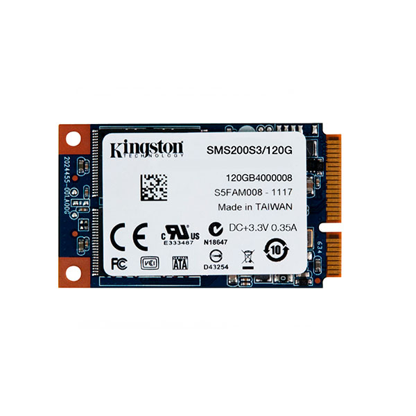 Kingston SSDNow mS200 120GB mSATA – Disco Duro SSD