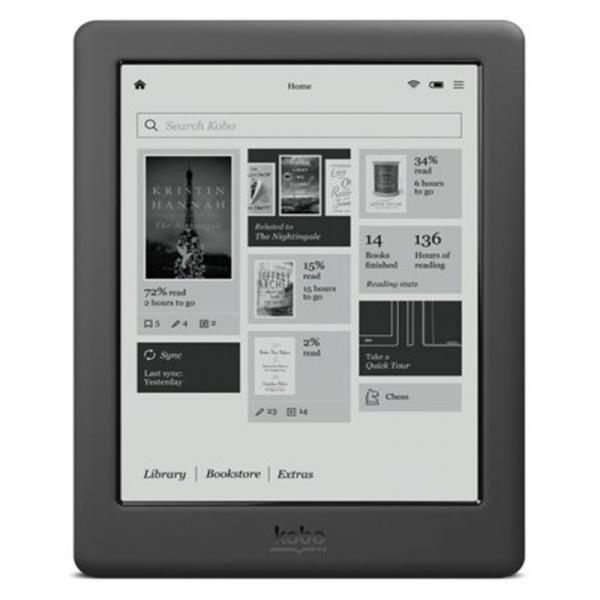 KOBO TOUCH 2.0 6″ 4GB WIFI – Libro Electronico