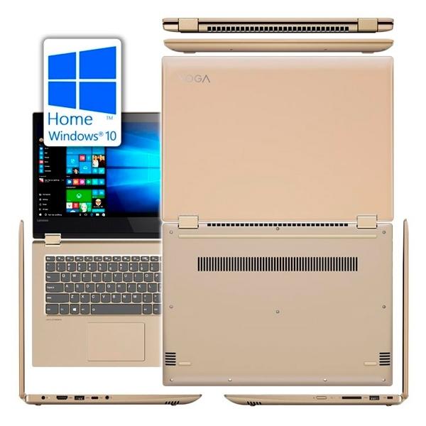 """Lenovo YOGA 520-14IKB i7 8550 8GB 1TB 14""""TFHD W10 - Portátil"""