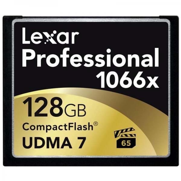 Lexar Professional 1066x 128GB 160MB/s – Tarjeta CompactFlas