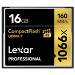 Lexar Professional 1066x 16GB 160MB/s – Tarjeta Compact Flas