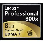 Lexar Professional 800x 8GB 120MB/s – Tarjeta Compact Flash