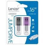 Lexar JumpDrive S50 16GB (2 unidades) USB 2.0 – Pendrive