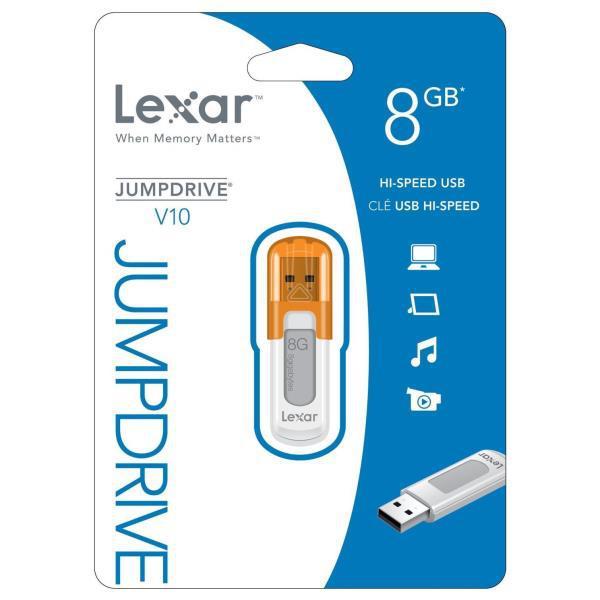 Lexar JumpDrive V10 8GB USB 2.0 – Pendrive