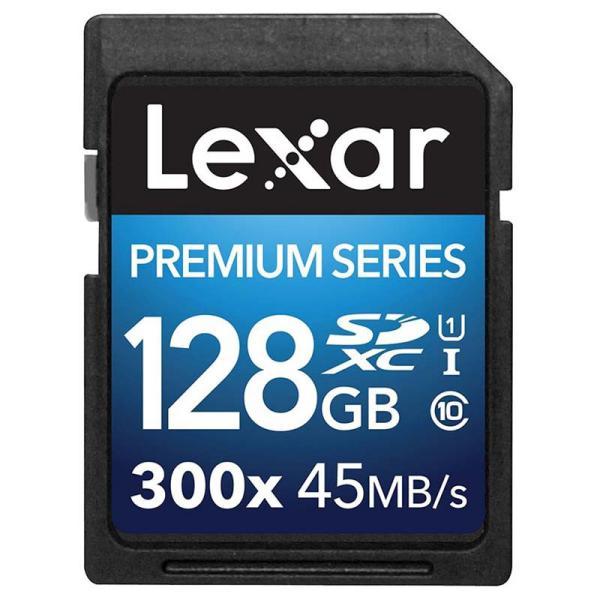 Lexar Premium II 128GB 300x – Tarjeta SD
