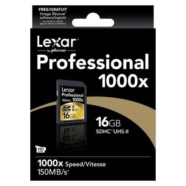 Lexar Professional 1000x 16GB 150MB/s – Tarjeta SD