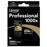 Lexar Professional 1000x 256GB 150MB/s – Tarjeta SD