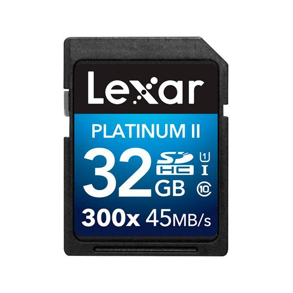 Lexar Premium II 32GB 300x- Tarjeta SD