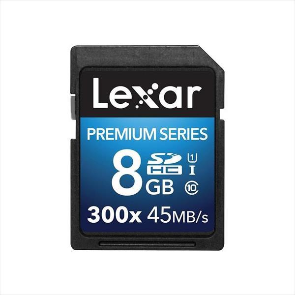 Lexar Premium II 8GB 300x – Tarjeta SD