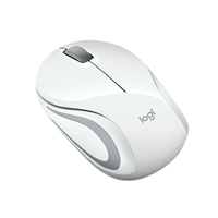 Logitech M187 blanco Wireless – Ratón