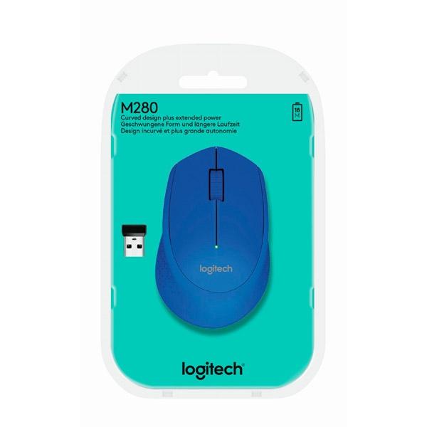 Logitech M280 azul Wireless  - Ratón