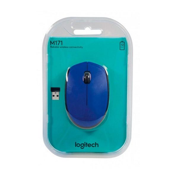Logitech M171 azul - Ratón