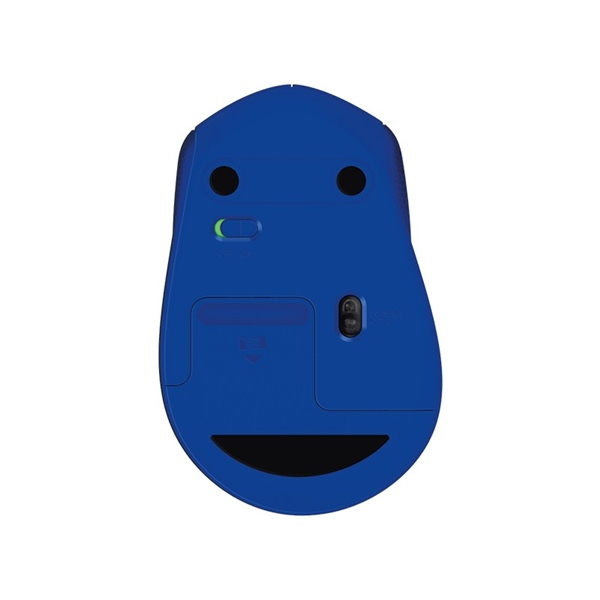 Logitech M330 Silent Plus azul – Ratón