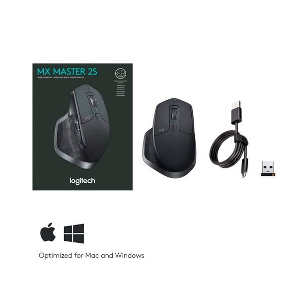 MX Master 2S Wireless grafito - Ratón
