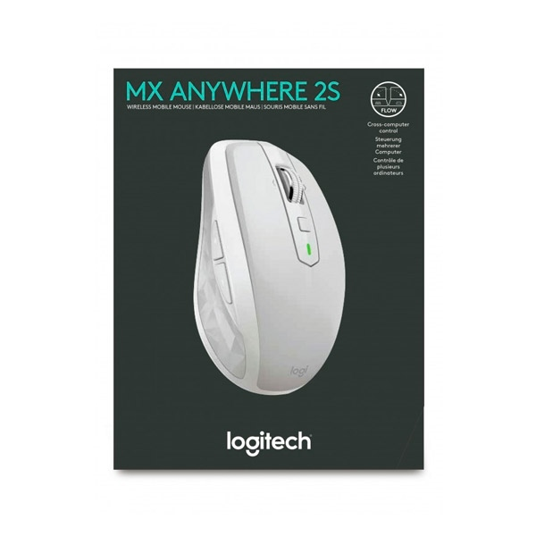 Logitech MX Anywhere 2S gris Bluetooth / Wireless - Ratón