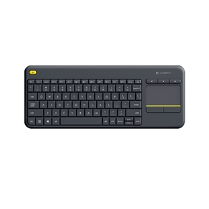 Logitech K400 Plus negro Wireless – Teclado