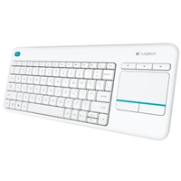 Logitech K400 Plus blanco Wireless – Teclado