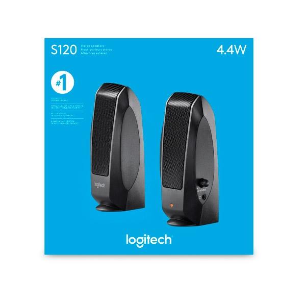 Logitech S-120 - Altavoces