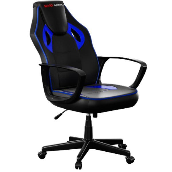 Mars Gaming MGC0BBL negro / azul – Silla
