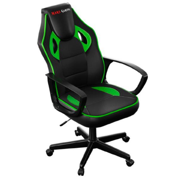 Mars Gaming MGC0 negro / verde – Silla