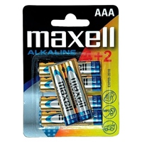 Maxell 4+2 pilas alcalinas AAA lr-06 – Pilas