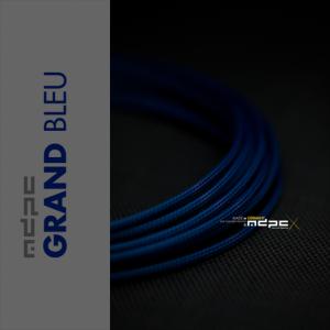 MDPC-X Azul Marino 1m grosor de 1,7-7,8mm – Funda de cable