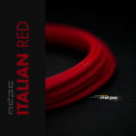MDPC-X Rojo Italiano 1m grosor de 1,7-7,8mm – Funda de cable