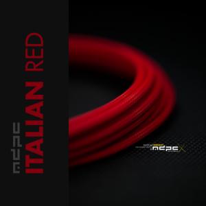 MDPC-X Rojo Italiano 1m grosor de 1,7-7,8mm – Funda de cable