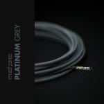 MDPC-X Gris Platino 1m grosor de 1,7-7,8mm – Funda de cable